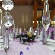 Dekoration für die perfekte Hochzeit, Festsaal