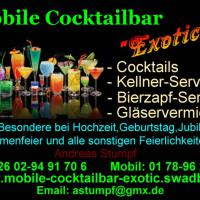 "Mobile Cocktailbar""Exotic"""