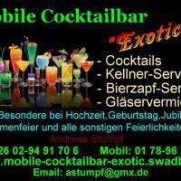 "Mobile Cocktailbar""Exotic"""