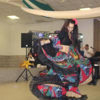 Orientalische Tänzerin Anna