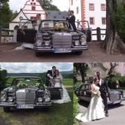 Glückliche Brautpaare mit Fischer-Classic