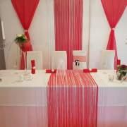 Wir stellen individuelle Hochzeitsdeko in der gewünschten Farbe zusammen und dekorieren nach Ihrem Geschmack.