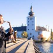 Saxophonist Hochzeit Schloss