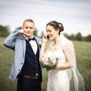 Anruf während der Hochzeit