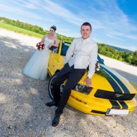Hochzeitsfoto mit